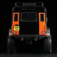 1Pair 1:10 RC Metall Rücklicht Lampe Cover Für Traxxas TRX-4 Land Rover Defender