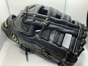 "Wilson A2000 ELO Baseball Softball Glove Pro Stock 12.75"" RHT Black"
