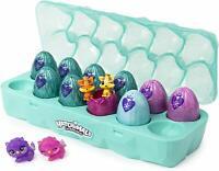 Hatchimals CollEGGtibles Jewelry Box Royal Dozen 12Pack Glitter Carton Accessory