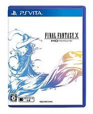 Used Sony Playstation PS Vita Final Fantasy X HD Remaster