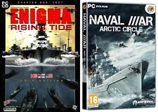 Enigma Rising Tide Gold Edition (USED)  &  naval war artic circle (NEW&SEALED)