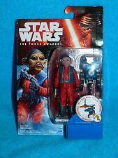 Star Wars The Force despierta 3.75 pulgadas Nien Nunb Numb MOC Nuevo!