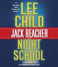 Lee Child (Jack Reacher) NIGHT SCHOOL Unabridged CD *NEW* FAST Ship!
