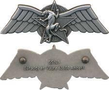 Brevet Combat Choc, C.P.E.S, DGSE, Argenté, recherche humaine Ber. GS 149(10101)