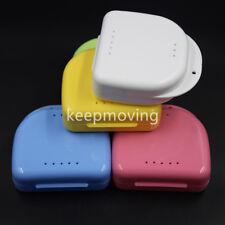 100x Mouthguard Denture Storage Box Protective Dental False Teeth Case Container
