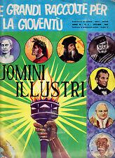 PANINI ALBUM FIGURINE UOMINI ILLUSTRI DEL 1967