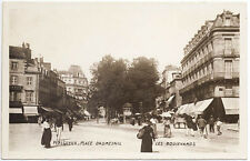 Les Boulevards Place Daumesnil Perigueux France RPPC Real Photo