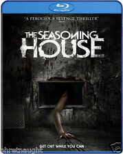 THE SEASONING HOUSE BLU-RAY - HORROR - AUTHENTIC US RELEASE