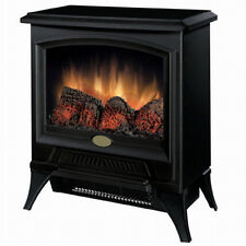 NEW! Dimplex CS12056A Comact Electric Stove Fireplace Flame Heater 400 Sq Ft