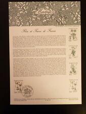 FRANCE MUSEE POSTAL FDC 15-83  FLEURS DE MONTAGNE LE MARTAGON  2F  TOULOUSE 1983