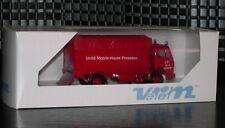 VEREM 142 Camion Miniature Pompiers MERCEDES Unité Mobile Somme neuf