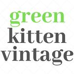 Green Kitten Vintage