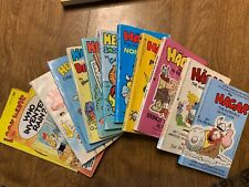 Hagar Heathcliff Family Circus comic lot of 12 vintage books