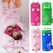 Childrens Kids Cute Animal Sleeping Bag Home Garden Camping Childs Sleep Cover