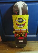 Santa Cruz Spongebob Bob L'éponge Hanging Out Shaped Skateboard not simpsons