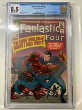 FANTASTIC FOUR 42 CGC 8.5 VF+ 1965 OW-WHITE PAGES - FRIGHTFUL FOUR BY KIRBY