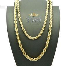 """14k SOLID Gold ROPE Pendant link Chain/Necklace 22"""" 6mm 57.2 grams (SR20-5)"""