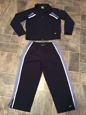 Euc Boys navy royal blue Nike Jacket sweatpants, size 12-14