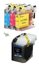 4pk - Compatible LC109BK LC105C LC105M LC105Y Ink Cartridges for the MFC-J6520DW
