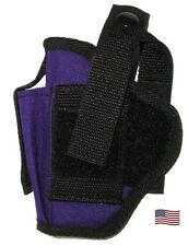 USA Mfg Purple Belt Hip Pistol Holster W Extra Mag Holder SCCY CPX-1 CPX-2 OWB