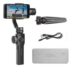 ON STOCK Zhiyun Smooth-4 Smartphone Gimbal Stabilizer ZY Play App+Tripod (Black)