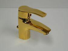 Robinet de lavabo BUDVA doré ( 24 carat ), Mitigeur à levier unique, robinet