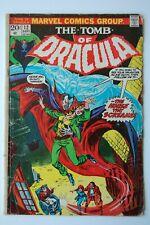 TOMB OF DRACULA (1974) #12 | GD/VG | 2nd App./Origin Blade!