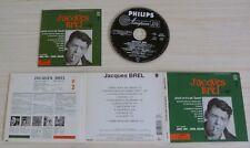 CD ALBUM DIGIPACK QUAND ON A QUE L'AMOUR JACQUES BREL 11 TITRES 2003