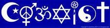 Coexist - Magnetic Bumper Sticker / Decal Magnet