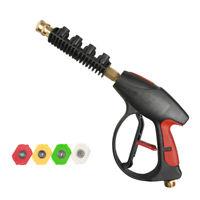 Pistola Per Idropulitrice 3000PSI Quick Connect Con Ugelli A 4 Colori Ugelli