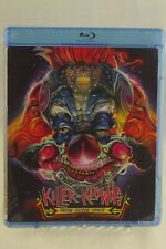 Killer Klowns From Outer Space Blu-ray cult 80s comedy horror movie clowns NEW!