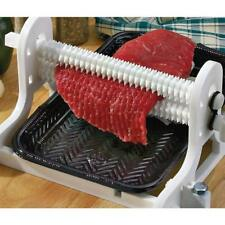Meat Tenderizer Countertop Kitchen Hand Crank Tool for Chicken Beef Steak Fish