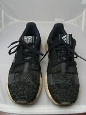 Adidas Sense BOOST Go M Black Gray Men Running  Shoes Sneakers F33908 9 1/2 NEW