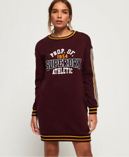 Superdry Womens Tori Collegiate Sweat Dress