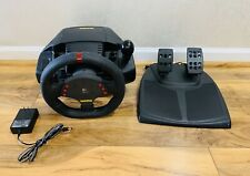 Logitech Momo Racing Force Feedback Steering Wheel w/ Foot Pedals, PC USB, E-UH9