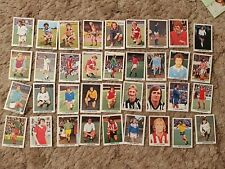 FKS SOCCER FOOTBALL x 36 STICKERS VARYING CONDITION SEE SCANS