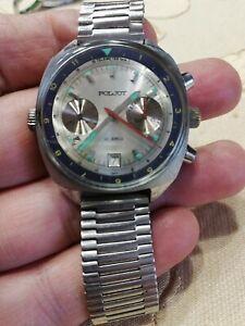 Vintage Poljot chronograph 3133 da 1 euro senza riserva