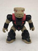 1987 Hasbro Battle Beasts Bludgeoning Bulldog Series 2 #51 Figure Toy Wood Rub