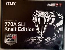 MSI 970A SLI KRAIT EDITION, AM3+, DDR3, AMD ATX Motherboard **NEW**