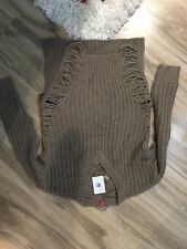 Tan Guess Sweater Xs/s