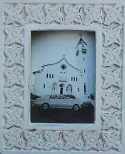 """Solid   Wood  """" Bali  Style """"  Photo  Frame     ( 7  """"  x   5 """" )    BRAND NEW"""