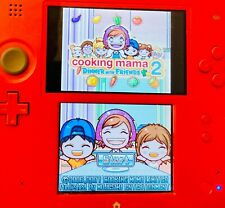 Cooking Mama 2: Dinner With Friends Nintendo DS Authentic Tested Working!!
