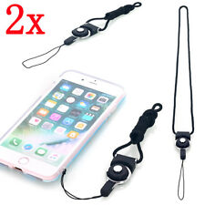 2x 1.2ft Universal Necklace Strap Lanyard For CellPhone Camera iPod MP4 USB Disk