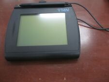 Topaz T-Lbk766Se-Bh196-R Signature Pad *As Is*