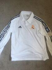 Real Madrid Jersey Zidane 2002 Centenario Champions League Sz L Long Sleeve