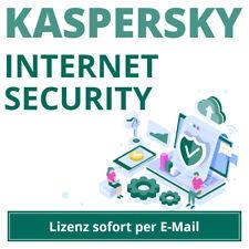 Kaspersky Internet Security 2021 für 1,2,3,5,10 Geräte und 1 oder 2 Jahre EMAIL