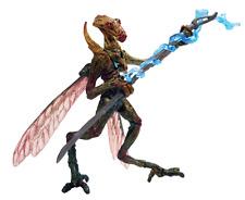Star Wars Attack of The Clones Geonosian Warrior by Hasbro in 2002
