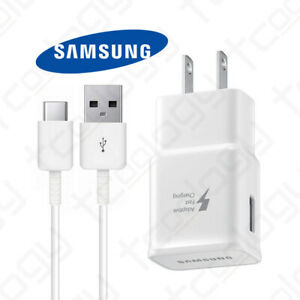 Original Samsung Galaxy S10 / Plus Note9 Fast Charge Adapter & USB Type-C Cable