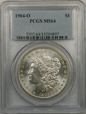 1904-O Morgan Silver Dollar $1 Coin PCGS MS-64 (BR9 G)