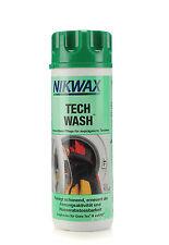 (1 litros/33,33 euros) 300 ml Nikwax Tech Wash impregnación detergente